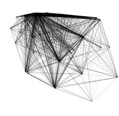 Processing with P5GraphTheory library #design #parametric
