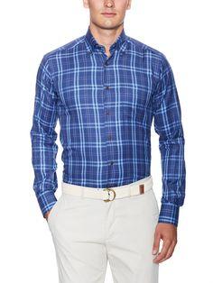 Crawford Cotton Plaid Sportshirt