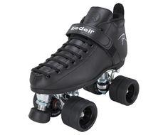 Vixen  Boot: 165 Black  Plate: PowerDyne Triton Aluminum  Wheels: Radar Flat-Out Black  Bearings: KwiK ABEC-7  Toe Stop: PD Round Black  $229.00