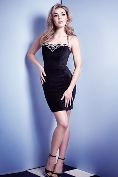 VELVET NIGHT AT THE RITZ DRESS Now $504.00  Shop here: http://www.wheelsanddollbaby.com/Products/DRESSES/DRESS/VELVET_NIGHT_AT_THE_RITZ_DRESS__DR-S15D035-VBLK.aspx
