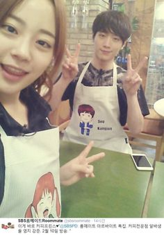 Seo Kang Joon and Youngji                                                                                                                                                                                 Mais
