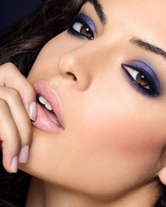 2. Purple - 7 Beautiful Eye Shadow Shades for Brown Eyes ...
