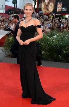 Scarlet Johansson, con el mejor 'look' de alfombra roja de septiembre de 2013