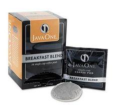 Java One Breakfast Blend Light Roast Coffee Pods 14ct