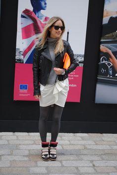 Street style / Isabel Marant sneakers