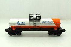 O Lionel Arix 1137 Airco Industrial Gases Tank Car 6 26143   eBay