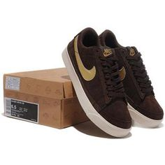 buy online 1fa92 75cbb Men Nike Anti-Fur Blazer Low Prm Brown Gold Shoes