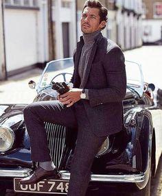 David Gandy for Vanity Fair UK