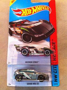 2014 Hot Wheels Treasure Hunts Maximum Leeway & Subaru WRX