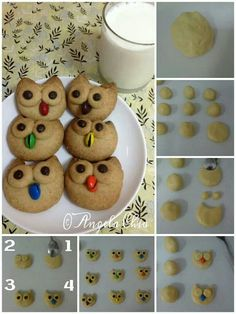Owl cookies...holy cow these are cute! So make your and Place your Order from me @ www.asaylor.origamiowl.com Thanks!