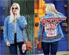 Get this look: http://lb.nu/look/8760705  More looks by Estelle Fashion: http://lb.nu/estellefashion  Items in this look:  Zara Denim Jacket, Zara Jeans Pants, New Look Bag   #casual #street #vintage #outfit #ootd #ootn #zara #denim #denimjacket