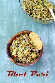 Bhel puri recipe -->