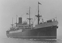 Devon (+1941) The 9,036-ton British India Steam Navigation Company liner DEVON, bound for New Zealand from Newcastle-upon-Tyne, with a crew of 144, and a cargo of 4,570 tons of machine, aircraft parts and used car tyres was intercepted by the German raider KOMET (Eyssen).   The cargo not deemed to be of sufficient value, DEVON's crew were taken aboard the KOMET and DEVON was sunk by gunfire, 200 miles south-west of the Galapagos Islands.