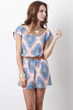 The playsuit is a great piece for hot summer days.