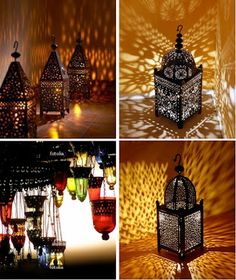 natural modern interiors: Bathroom lighting ideas :: Moroccan and Turkish lamps