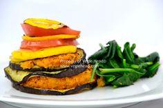 Vegie Head » Sweet Potato Rosti Stack…