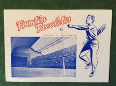 JAI ALAI 1954 Brochure Fronton Recoletos Madrid Spain Palace Et The Basque-Ball | #1822895262