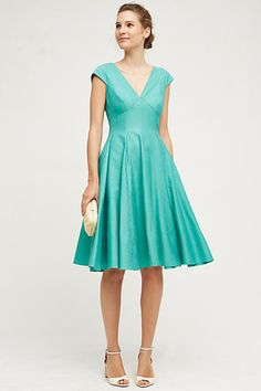 Paimpont Silk Dress - anthropologie.com