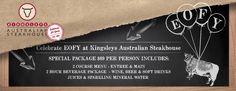 Kingsleys cbd steakhouses sydney australia