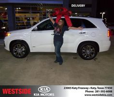 #HappyAnniversary to Hung Hua on your 2013 #Kia #Sorento from Everyone at Westside Kia!
