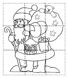 kerstboompuzzel | vorschule weihnachten, weihnachtsarbeitsblätter, kindergarten weihnachten