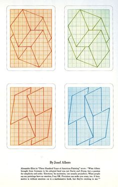 Josef Albers Playing Cards | Rea R. | Flickr