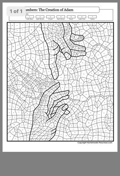 Paint by Number Coloring Books Luxury Coloring Pages for Adults with Numbers Color by Number by – Parque Coloring Paint By Number, Art Worksheets, Coloring Books, Lettering Alphabet, Abstract Coloring Pages, Mosaic Art