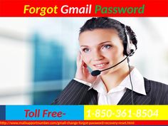 Forgot Gmail password 1-850-361-8504 at Nominal Cost