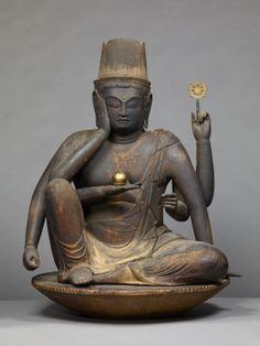 如意輪観音坐像(奈良国立博物館)