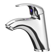 Ensen Bath Faucet With Strainer Chrome Plated Bathroom
