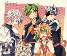 Bild über We Heart It #anime #boys #dragons #kawaii #shin #akatsukinoyona #yellowdragon