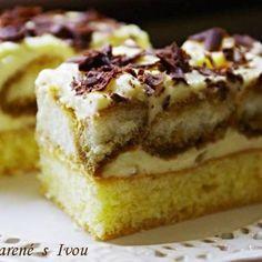 Najúžasnejší tvarohový koláč aký ste kedy jedli! Sweet Desserts, Sweet Recipes, Cake Recipes, Healthy Diet Recipes, Desert Recipes, Graham Crackers, Creative Food, Nutella, Banana Bread