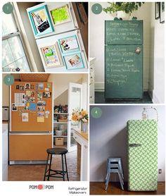 Refrigerator Makeover Ideas!