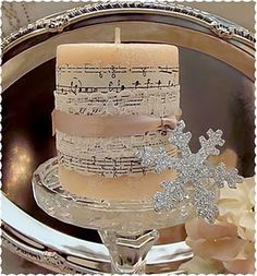 Shabby Chic Altered Candle & Candle Holder Tutorial