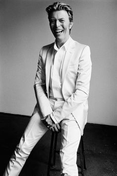 David Bowie by Mario Testino for V18, 2002
