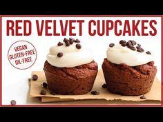 Healthy Vegan Red Velvet Cupcakes | Gluten, Oil, & Sugar Free