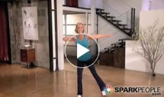 THIS IS SOOO FUN!! Low-impact #cardio workout that really works! | via @SparkPeople #fitness #video