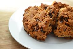 Clean Eating Recipes - Choc Orange Scones (sub for clean ingredients: cacao nibs)