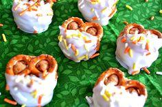 Biscoff Cheesecake Pretzel Bites