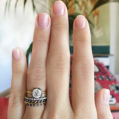 One For You Ring Stack by Erstwhile