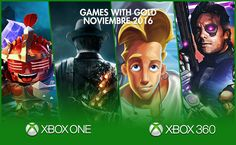 Games with Gold  Noviembre 2016