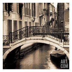 Ponti di Venezia No. 1 Art Print by Alan Blaustein at Art.com