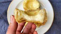 Rough Puff Pastry, Butter Puff Pastry, Flaky Pastry, Tart Filling, Custard Filling, Chinese Egg Tart, Sbs Food, Pastry Shells, Custard Tart