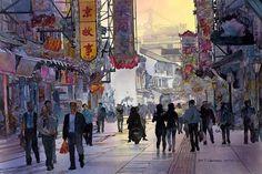 Nanjing Evening by John Salminen