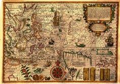 """Insulae Moluccae Celeberrimae,"""" drawn by Petrus Plancius in 1598 and published in Linschoten's """"Itinerario,""""considered the most important documents in the history of the mapping of Southeast Asia."""