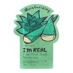 [TONYMOLY] I'm Real Mak Mask Sheet (Aloe 5PCS)