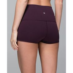 lululemon Boogie Short (Roll Down) ($48) ❤ liked on Polyvore
