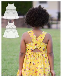 Little Girl Dress Patterns, Kids Dress Patterns, Little Girl Dresses, Flower Girl Dresses, Pretty Dresses For Kids, African Dresses For Kids, Cute Dresses, Baby Dresses, Girls Dresses