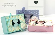 Gorgeous Box for 12 Tea Lights Tutorial | Stampin' Up! UK Demonstrator Pootles!