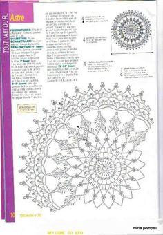 Yandex.Disk Crochet Doily Diagram, Crochet Rug Patterns, Crochet Doily Patterns, Thread Crochet, Crochet Designs, Mandala Pattern, Crochet Dreamcatcher, Crochet Dollies, Paper Embroidery